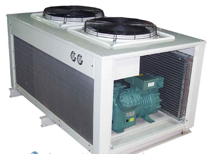 V型箱式冷凝机组