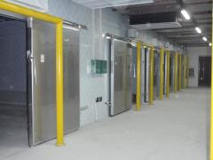 金寨700立方米茶叶保鲜冷库工程设计安装